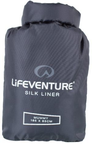 Gibb Outdoors - Lifeventure Silk Sleeping Bag Liner