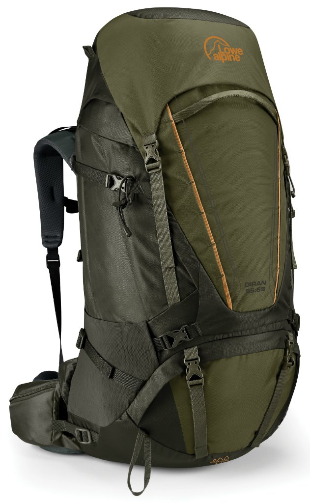Gibb Outdoors - Lowe Alpine Diran 55-65 Moss Dark Olive